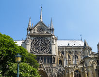 Notre Dame Cathedral, Paris Royalty Free Stock Photos