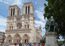 Notre Dame Cathedral Paris France Stock Photos