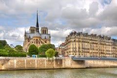 Notre Dame Cathedral. Paris, France. Stock Images
