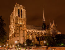 Notre Dame Cathedral Paris France Royalty Free Stock Image
