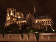 Notre Dame Cathedral Paris France Stock Images