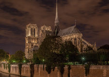 Notre Dame Cathedral Paris France Royalty Free Stock Photos