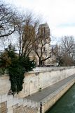 Paris Notre Dame Cathedral Royalty Free Stock Images