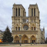 Notre Dame Cathedral Stock Photo