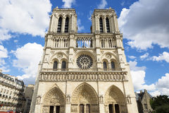Notre Dame Cathedral - Paris Stock Image