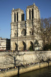 Notre Dame Cathedral, Paris, France Stock Photography
