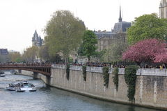 Notre-Dame Cathedral in Paris Royalty Free Stock Photo