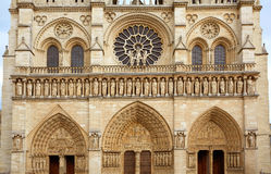 Notre Dame cathedral in Paris France Stock Photography