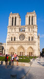 Notre Dame Cathedral, Paris, France. Stock Images