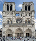 Notre Dame Cathedral, Paris, France. Royalty Free Stock Photography