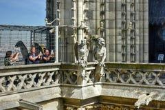 Notre Dame Cathedral - Paris, France Stock Images