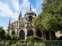 Notre dame cathedral in Paris Royalty Free Stock Photography