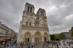 The Notre Dame cathedral of Paris Royalty Free Stock Images