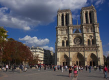 Notre Dame Cathedral, Paris, France Royalty Free Stock Photos