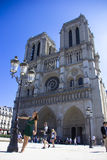 Notre Dame Cathedral, Paris, France Stock Photos