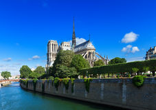 Notre Dame cathedral, Paris France Royalty Free Stock Photography