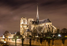 Notre Dame Cathedral, Paris, France Stock Image