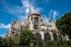 Notre Dame Cathedral, Paris, Frankreich Stockbild