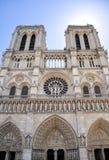 Notre Dame Cathedral, Paris, Frankreich Lizenzfreie Stockbilder