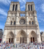 Notre-Dame Cathedral, Paris Stock Photography