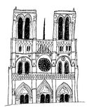 Notre Dame Cathedral Stock Image