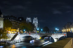 Notre dame Cathedral, Paris, Ile de France, France Royalty Free Stock Photography