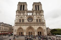 Notre Dame Cathedral Royalty Free Stock Photos