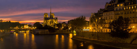 Notre Dame Cathedral of Paris Stock Image
