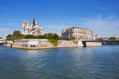 Notre Dame cathedral in Paris Stock Photography