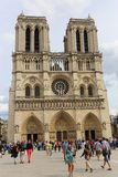 Notre Dame cathedral,Paris Royalty Free Stock Photography