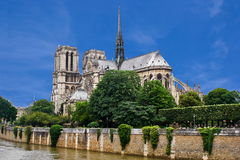 Notre-Dame Cathedral, Paris Stock Images