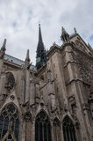 Notre Dame Cathedral in Paris Royalty Free Stock Images