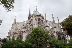 Notre Dame Cathedral in Paris Royalty Free Stock Image