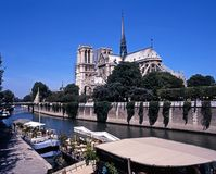 Notre Dame Cathedral, Paris. Royalty Free Stock Images