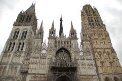 Notre Dame Cathedral in Rouen royalty free stock image