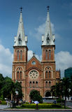 Notre Dame Cathedral, Saigon Stock Photo