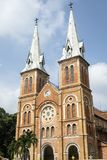 Notre Dame Cathedral of Saigon Ho Chi Minh City stock photo