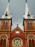 Notre Dame Cathedral. Saigon, Ho Chi Minh City, Vietnam Royalty Free Stock Images