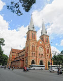 Notre Dame cathedral in Saigon Stock Photo