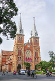 Notre Dame cathedral in Saigon Royalty Free Stock Photos