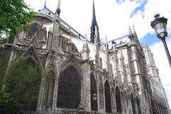The Notre Dame cathedral Royalty Free Stock Images