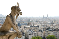 Notre Dame Cathedral Statue Stock Photography
