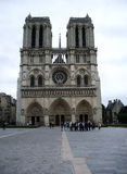 Notre Dame. Notre Dame - Catholic cathedral in central Paris Stock Photography