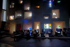 Notre Dame和chapel du haut 免版税库存照片