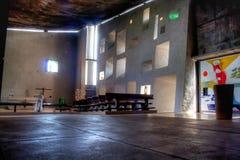 Notre dame and chapel du haut france. Notre dame and chapel du haut royalty free stock photography