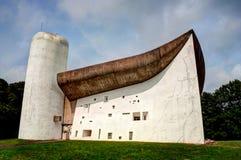 Notre dame and chapel du haut france. Notre dame and chapel du haut royalty free stock photos