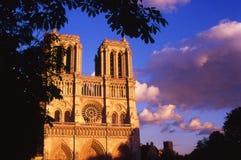 The Notre Dame Church Stock Photos
