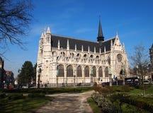 Eglise Notre-Dame du Sablon Stock Photography