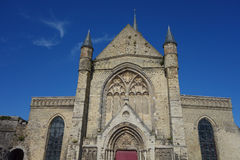 Notre Dame church in Calais Royalty Free Stock Photo