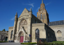 Notre Dame church in Calais Stock Images